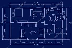 blueprint for house blueprint house plan stock photo skaljac 2045541