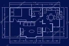 Blueprint Homes Floor Plans Blueprint House Plan U2014 Stock Photo Skaljac 2045541