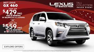 lexus gs hybrid lease 2017 lexus gx lease special in orlando lexus of winter park