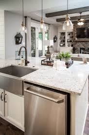 Kitchen Ceiling Lights Ideas Best 25 Sink In Island Ideas On Pinterest Kitchen Island Sink