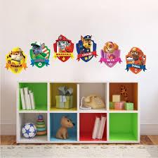 Paw Patrol Kids Wall Decal Decor Paw Dog Birthday Party Theme - Kids room wall murals