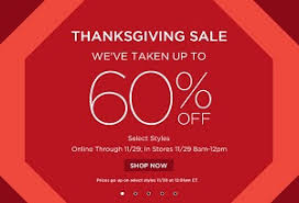 saks fifth avenue thanksgiving 2013 sale up to 60