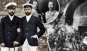 kings offer hope of checking world cup run riot daily mail online russian revolution why king george v did not save identical