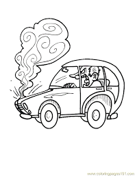 burning car coloring page free racing cars coloring pages