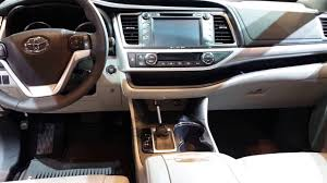 toyota highlander 2016 interior 2016 toyota highlander interior walkaround price site toyota cars