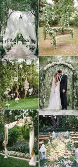 Ideas For A Garden Wedding 30 Totally Breathtaking Garden Wedding Ideas For 2017 Trends