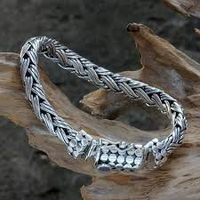 sterling silver woven bracelet images The 175 best bracelet images bracelets men 39 s jpg