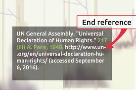 quotation marks end of sentence 3 ways to cite the universal declaration of human rights wikihow