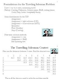 Utah travelling salesman images 01 formulations for the tsp with ampl mathematics of computing