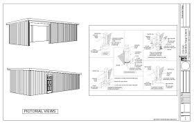 barn plans blueprint pole barn plans
