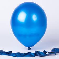 metallic balloons metallic blue balloons pack of 6 only 99p