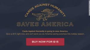 cards against humanity where to buy cards against humanity buys land on mexican border to stump