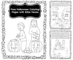 Free Halloween Coloring Page by Pumpkin Carving Coloring Pages With Bible Verses For Halloween