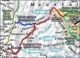 maryland byways map ponderosa pine scenic byway idaho scenic byways