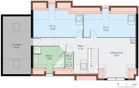 plan de maison a etage 5 chambres plan maison duplex gratuit
