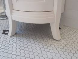 best hex bathroom floor tile contemporary the best small and