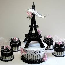 i might be able to make eiffel tower table decorations using