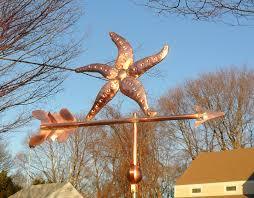 Mermaid Weathervanes Starfish Sea Life Weathervane Cape Cod Cupola