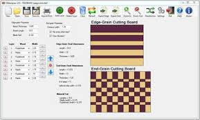 Woodworking Design Software Download by Cbdesigner V2 0 Cutting Board Design Software By Jayman7
