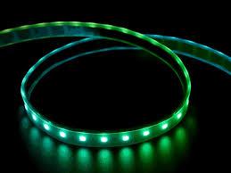black light led strip adafruit dotstar digital led strip black 60 led per meter