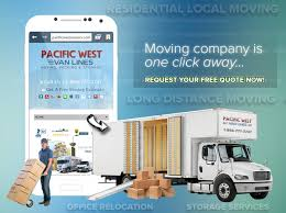 Relocation Estimate by Pacific Lines Free Moving Quote Form Pacific Lines