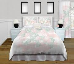 girls pink and green bedding green and pink bedding for girls with gold personalized