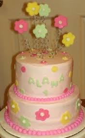 flower garden u0027s 1st birthday cake cakecentral com