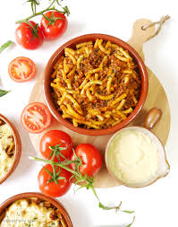 dinner party ragu alla bolognese pasta bowls