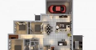 home design layout this is minimalist 3 bedroom home design layout with car garage