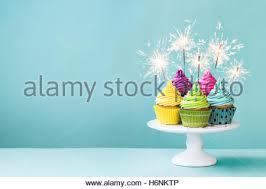 birthday cake sparklers birthday cake with sparkler candles stock photo royalty free