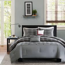 Grey Down Comforter Boys Comforter Sets Comfort Blue Green Manboy Plaid Down