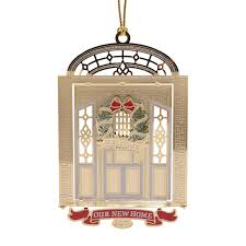 our new home ornament 2017 chemart ornaments solid brass ornament