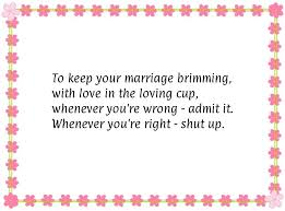 wedding wishes humor to keep your marriage brimming with in the loving cup