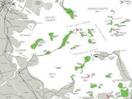Boston Tourist Map Land U0027s End The Five Smallest Islands In Boston Harbor Curbed Boston