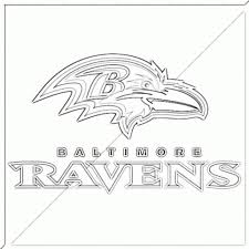 baltimore ravens coloring pages qlyview com