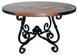 wrought iron pedestal table base wrought iron dining table bases cast iron dining table base john t
