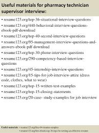 Pharmacy Tech Sample Resume by Top 8 Pharmacy Technician Supervisor Resume Samples