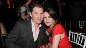 photos bobby flay and actress stephanie march abc7chicago com