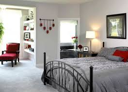Light Grey Walls by Light Grey Bedroom Walls Dark Gray Shag Rug Brown Platform