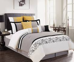 Yellow White Grey Bedroom Yellow White Grey Bedroom Ideas View In Gallery Soothing Modern