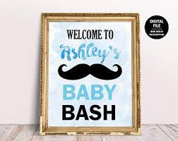 mustache baby shower mustache baby shower etsy