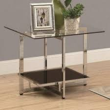 Glass End Tables Glass End Tables Design Ideas And Metal Robinsuites Co