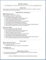 Template For A Good Resume Online Resume Example Resume Example And Free Resume Maker