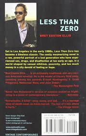 halloween city easton less than zero bret easton ellis 9780679781493 amazon com books
