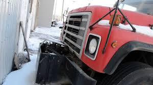 international trucks old 80s international s1900 dump truck youtube
