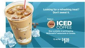 Iced Coffee Mcd mcdonald s iced coffee home