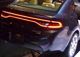 2013 dodge dart tail lights racetrack taillights dart charger challenger brightest
