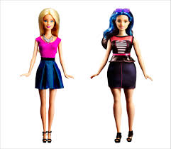 barbie suddenly looks more normal right in line with the