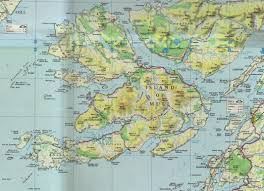 Road Map Of Scotland Mull Staffa And Iona 3 Scottish Islands In One Day