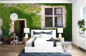 3d room wallpaper custom photo non woven mural plant vines window